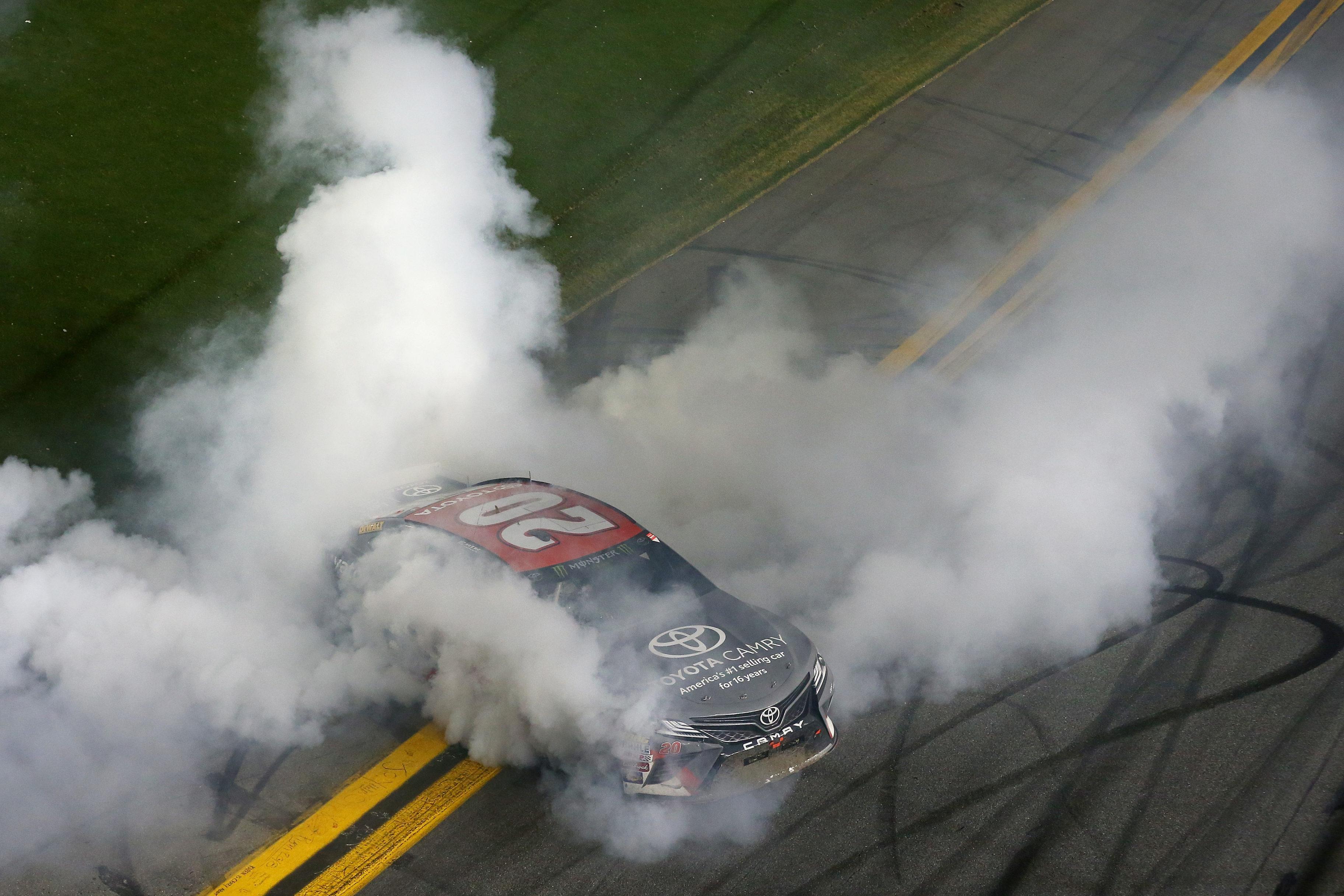Erik Jones - NASCAR burnout
