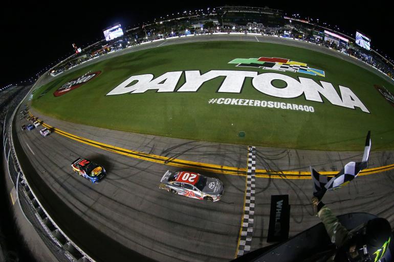 Erik Jones wins at Daytona
