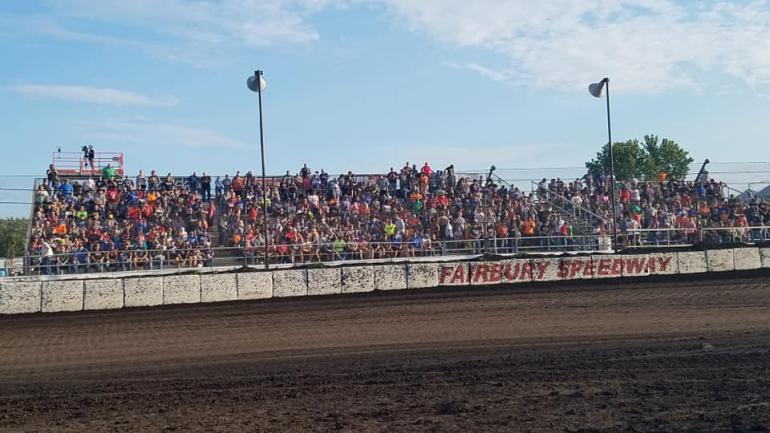 Fairbury Speedway granstands