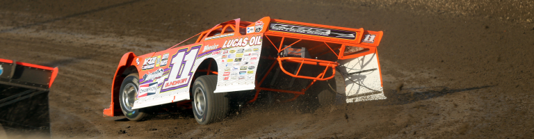 Gordy Gundaker ran a crate motor against the supers, maintaining Summer Nationals points