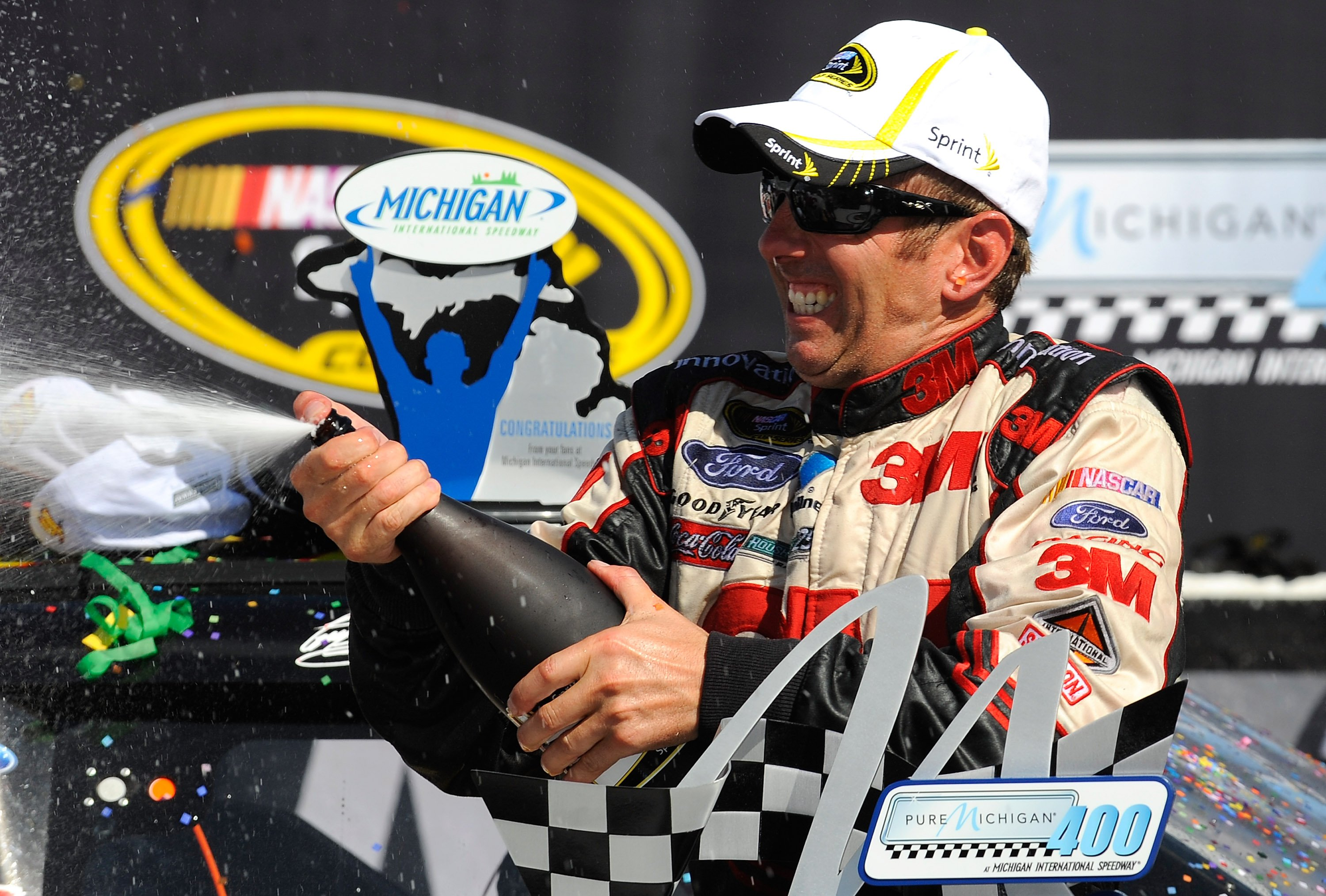 Greg Biffle wins at Michigan International Speedway
