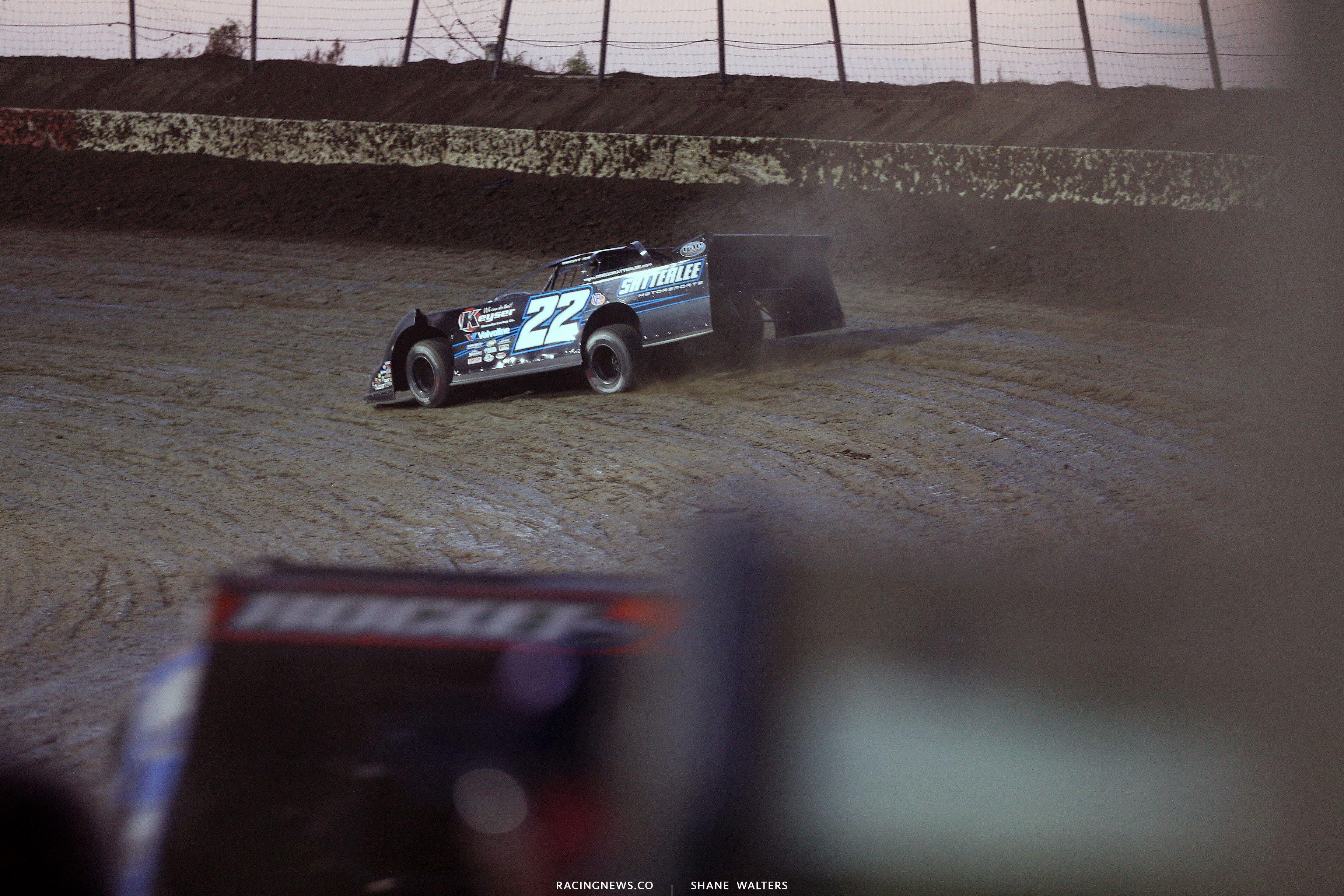 Gregg Satterlee at I-80 Speedway 4195