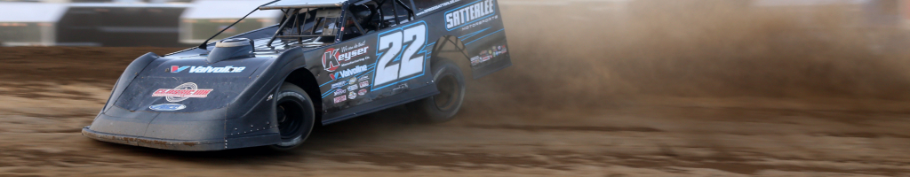 Gregg Satterlee picked up the win at Muskingum County Speedway