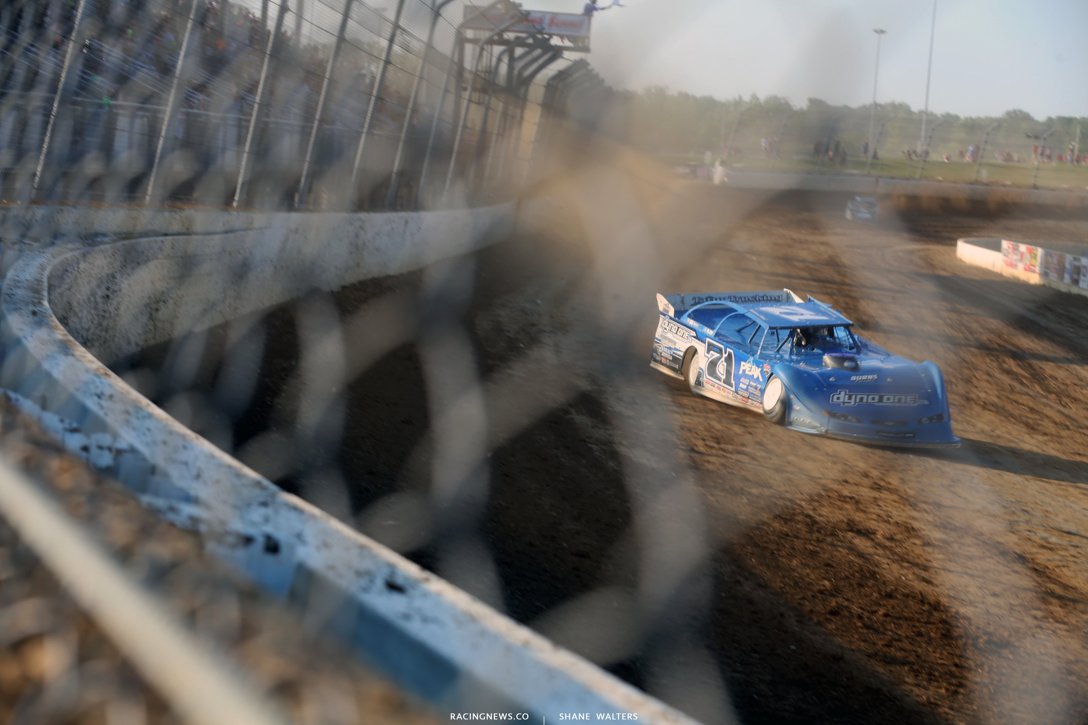 Hudson O'Neal at Mansfield Motor Speedway 0273