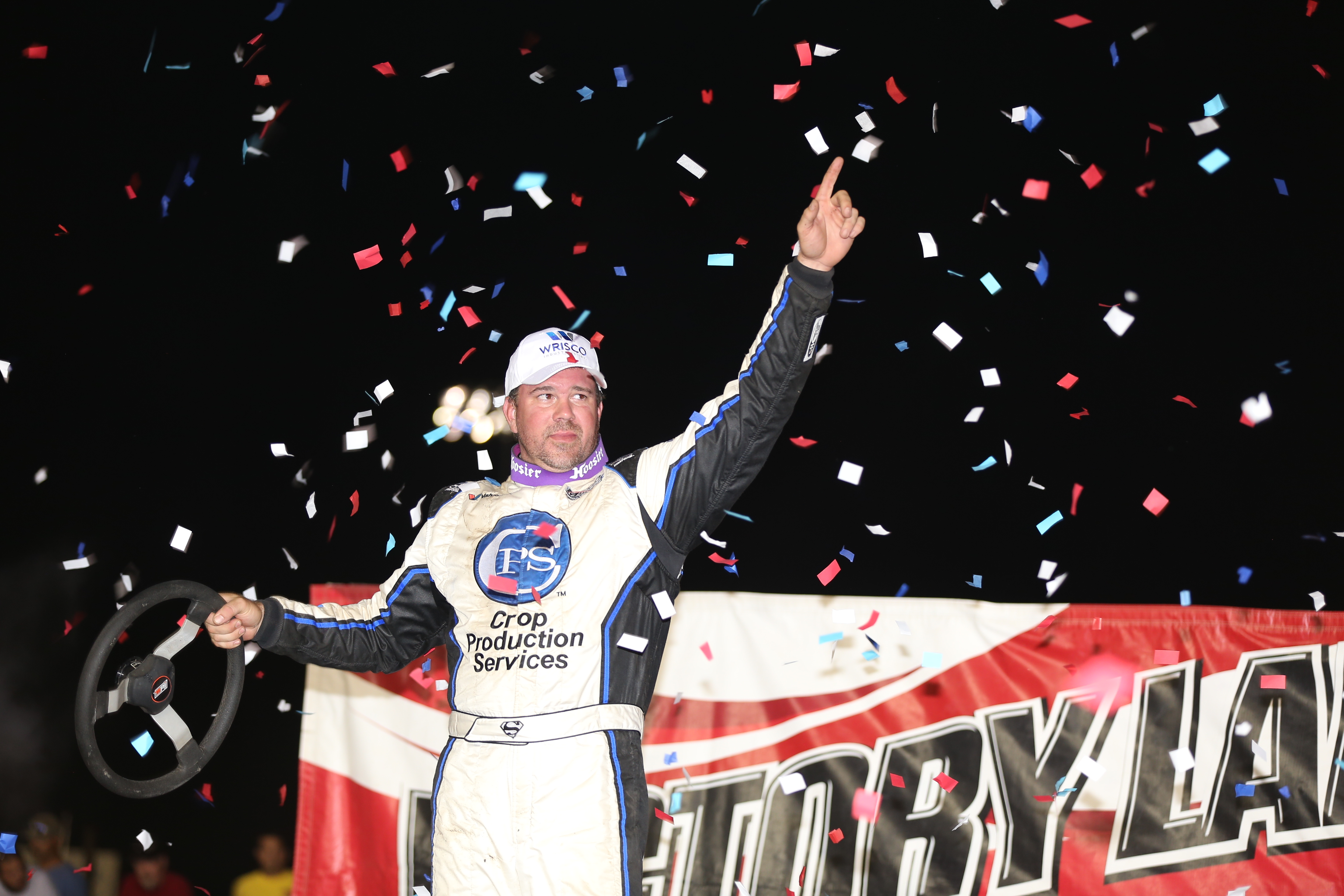 Jonathan Davenport wins at I-80 Speedway 3916