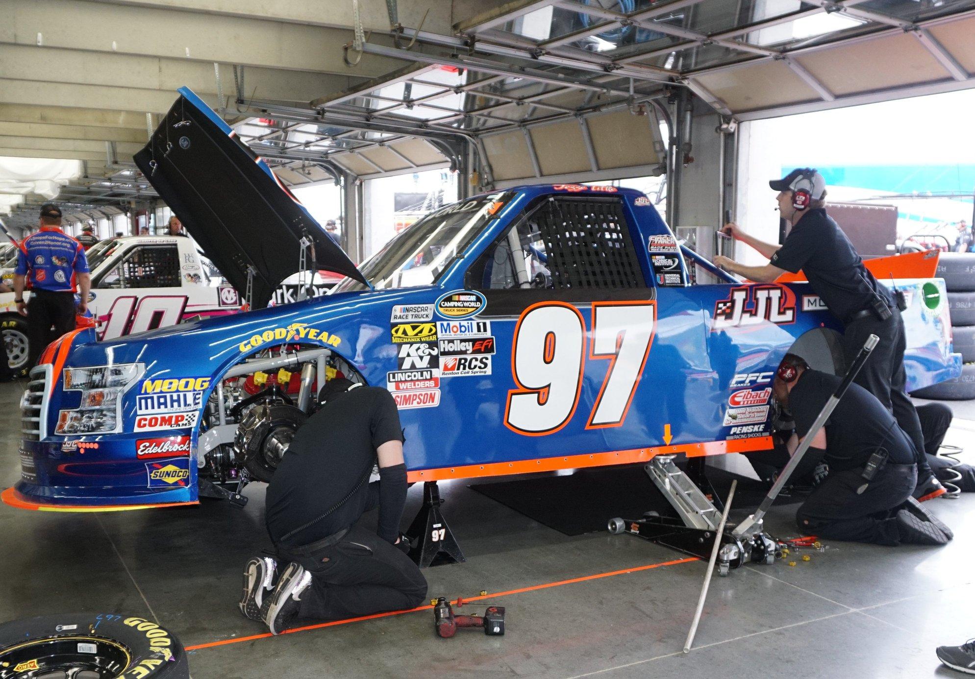 Jesse Little - Small NASCAR team