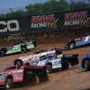 Jimmy Owens, Bobby Pierce and Will Vaught at Lucas Oil Speedway 2762