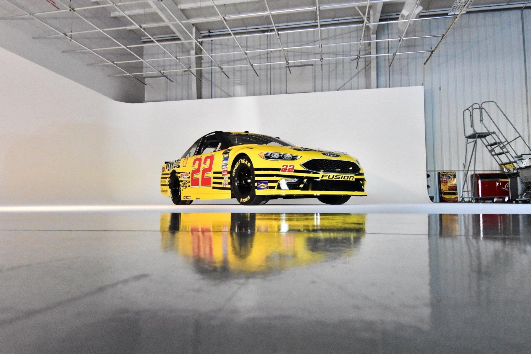 Joey Logano - 2018 Darlington Raceway paint scheme