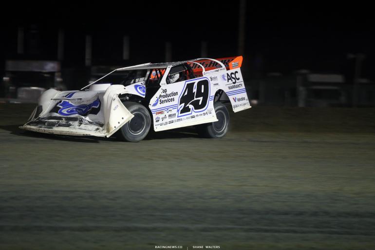 Jonathan Davenport at Brown County Speedway 3204