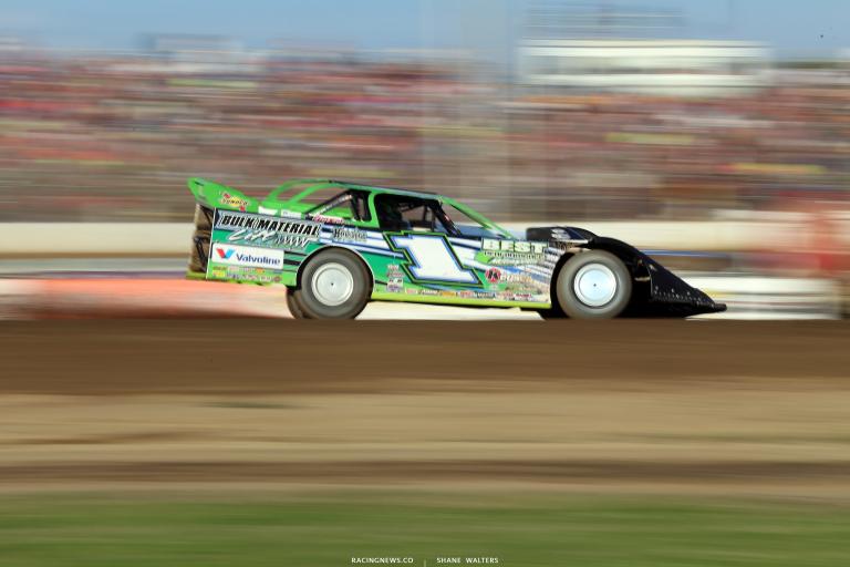 Josh Richards at Muskingum County Speedway 1519