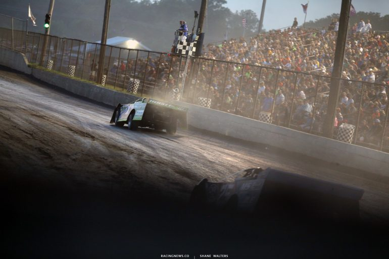 Josh Richards at Tri-City Speedway 2368