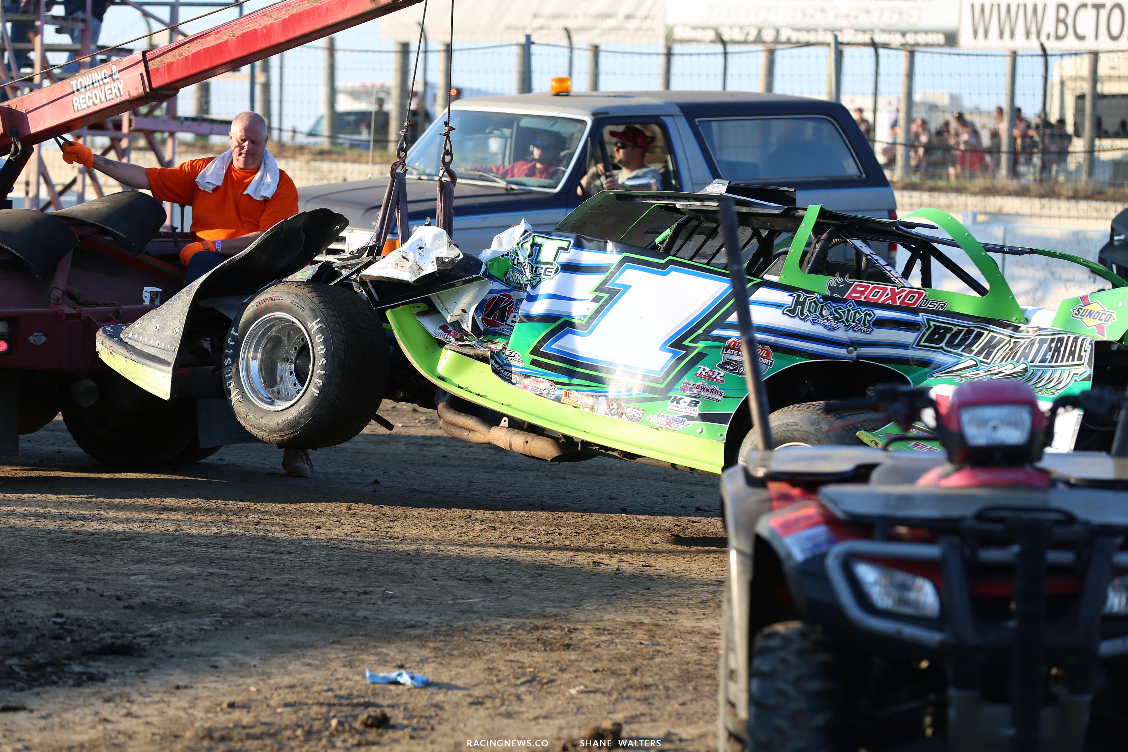 Josh Richards crash 4263