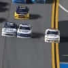 Justin Haley - Crossing double yellow line at Daytona