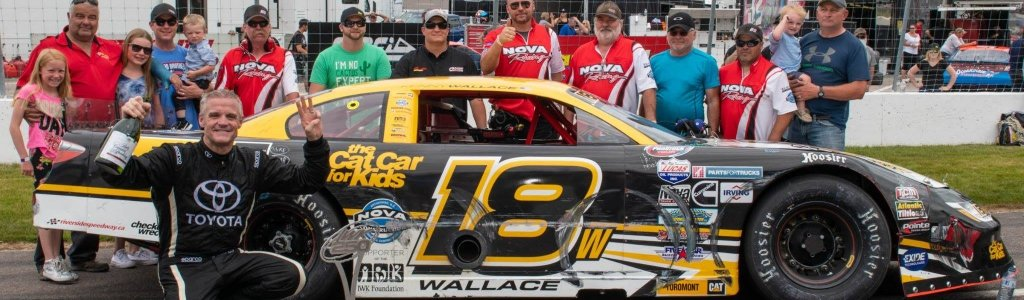 Three cars disqualified at Riverside International Speedway, Kenny Wallace wins