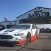Kevin Harvick at Pocono Raceway - MENCS