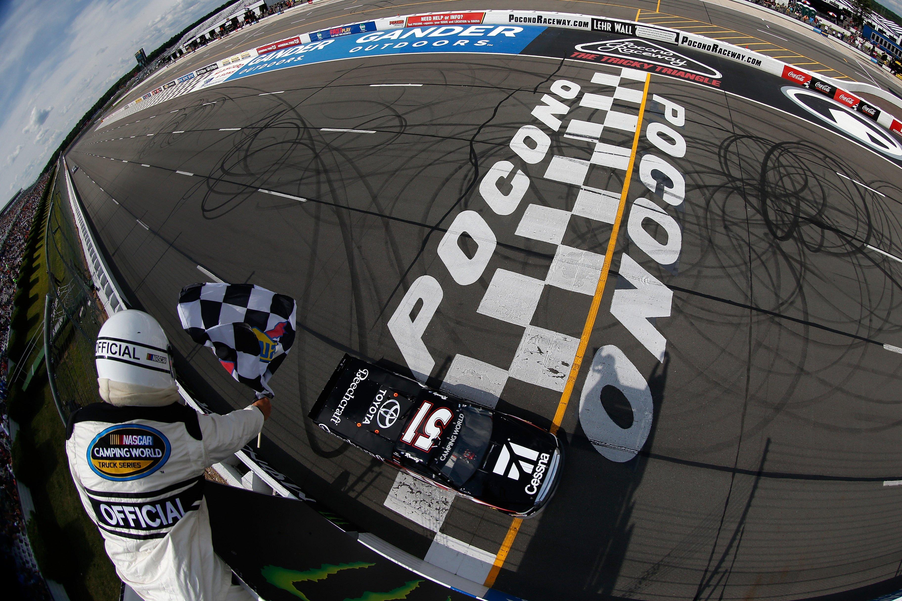Kyle Busch wins Pocono Raceway - NCWTS