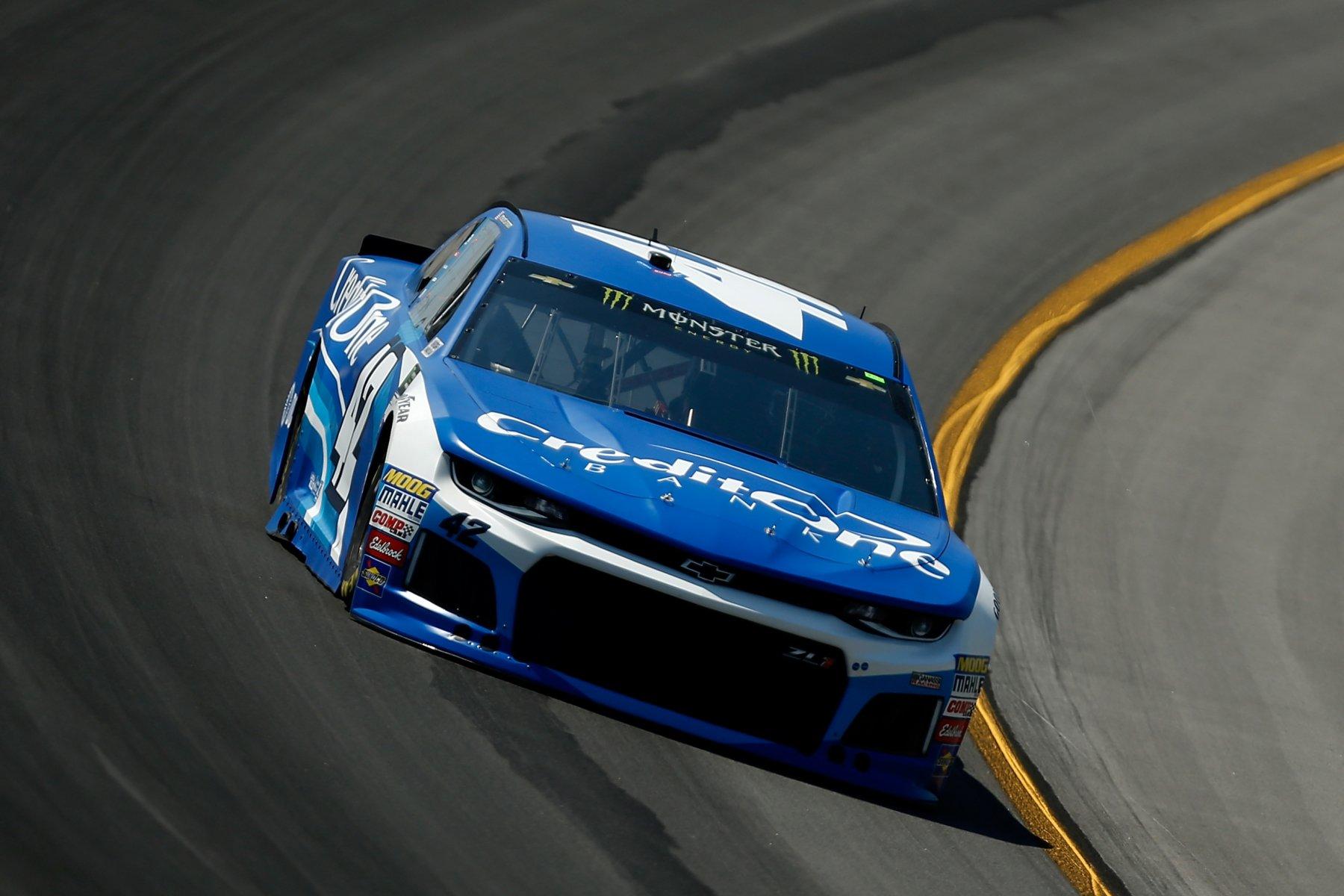 Kyle Larson at Kentucky Speedway