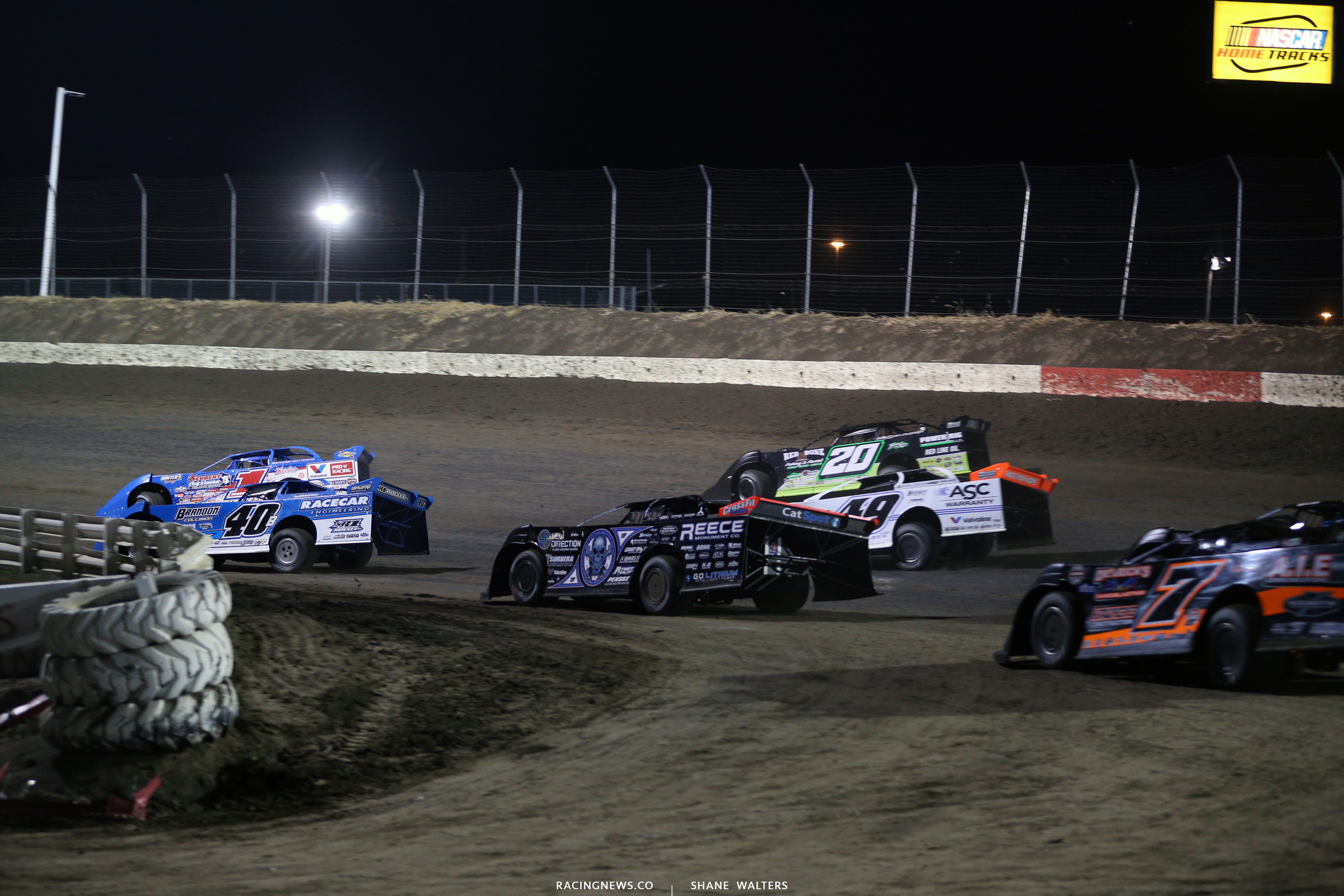 Lucas Oil Late Model Dirt Series at I-80 Speedway 3811