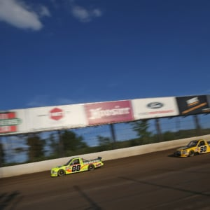 Matt Crafton at Eldora Speedway