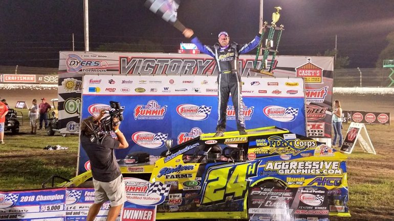 Mike Harrison - 2018 Summit Modified Nationals Champion