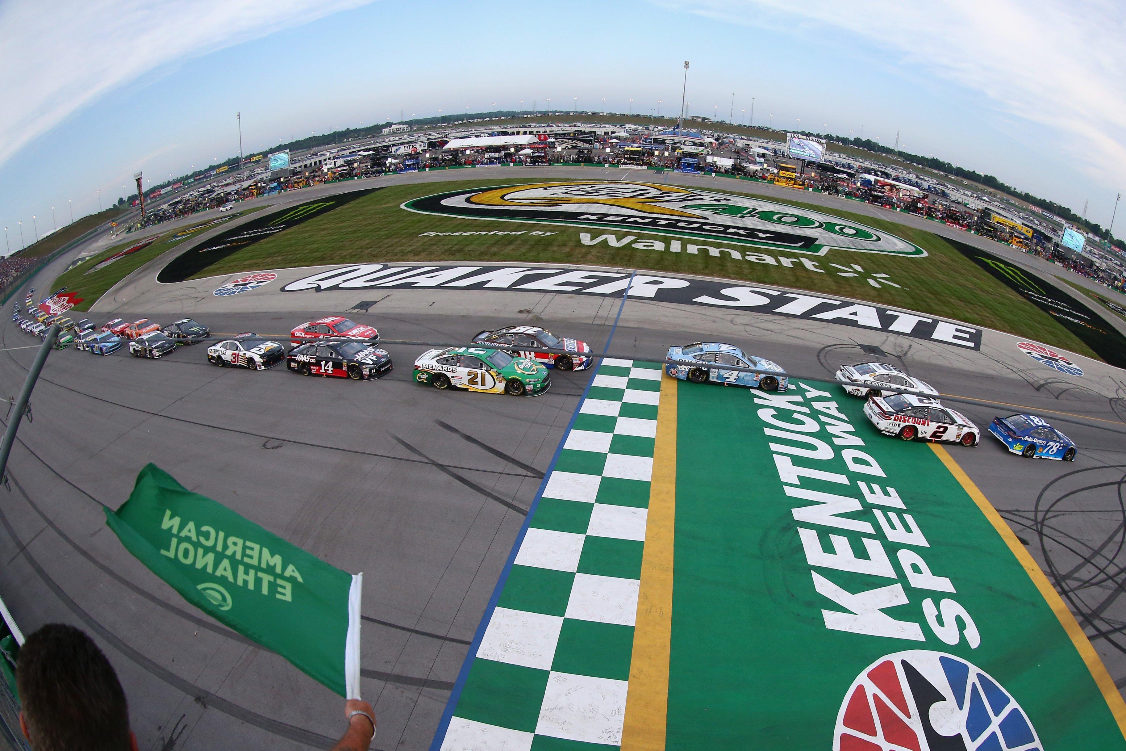 Kentucky Starting Lineup: July 2019 (NASCAR Cup Series)