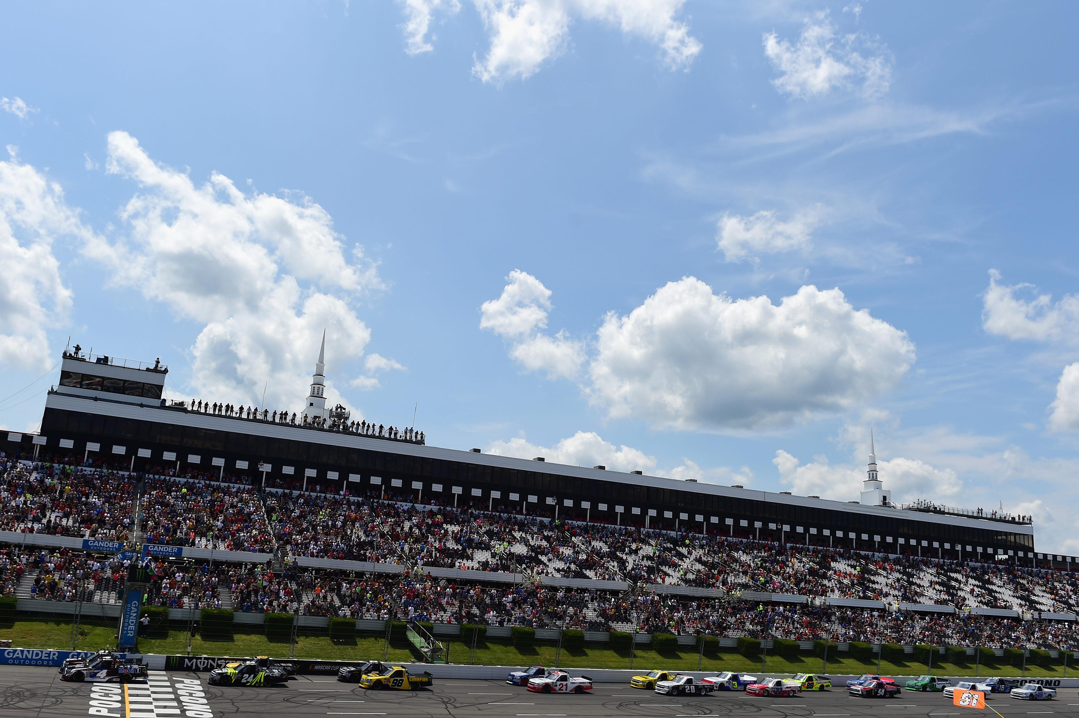 NASCAR Camping World Truck Series at Pocono Raceway
