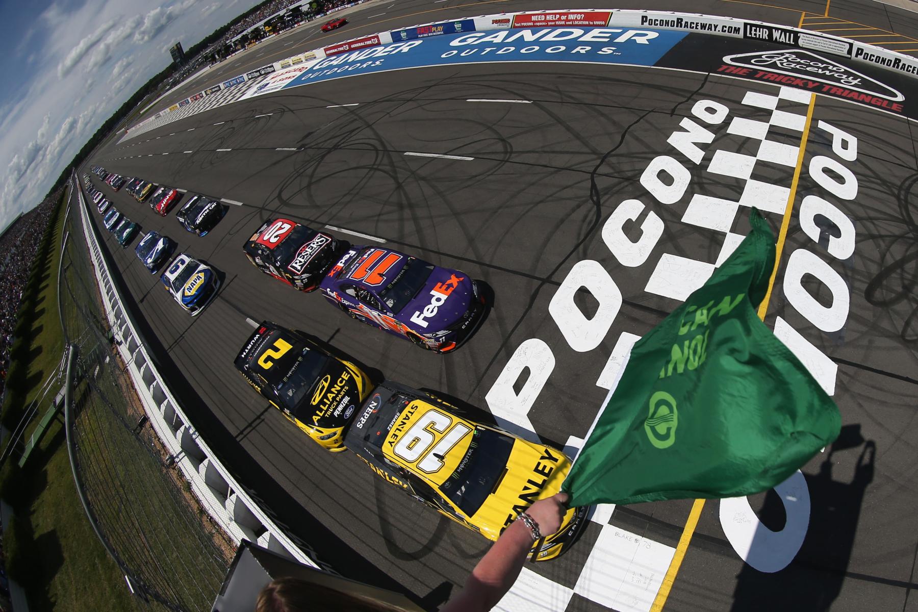 NASCAR Cup Series race at Pocono Raceway