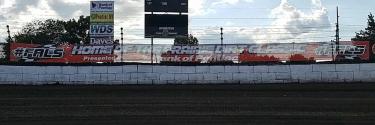 Fairbury Speedway banner stolen