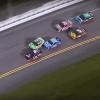 Ricky Stenhouse Jr, Kyle Busch and William Byron at Daytona International Speedway