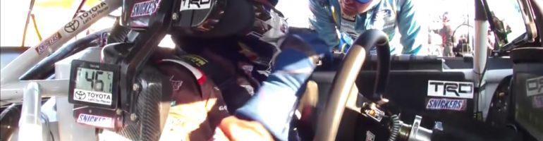 Ricky Stenhouse Jr confronts Kyle Busch (Video)