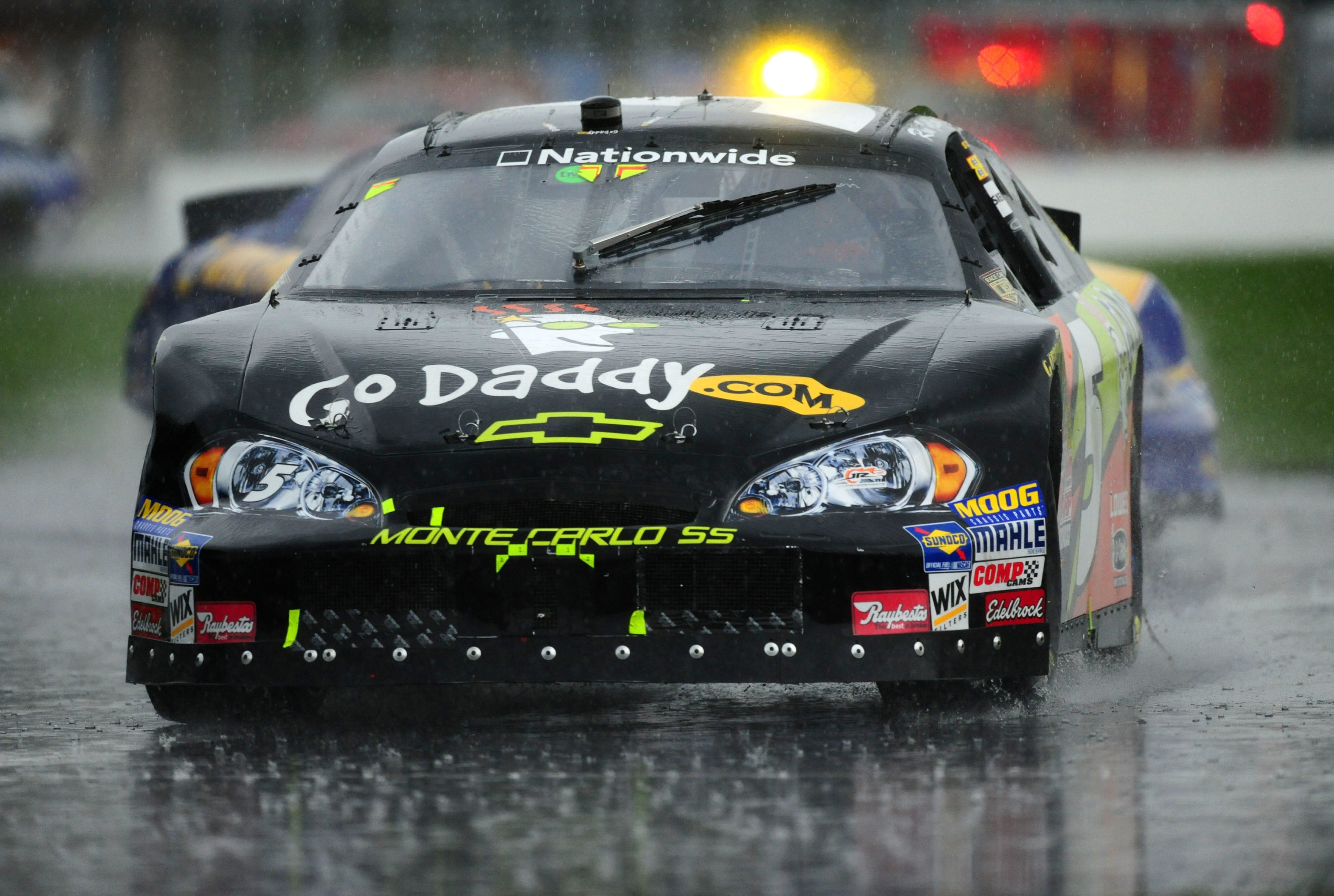 Ron Fellows - NASCAR in the rain