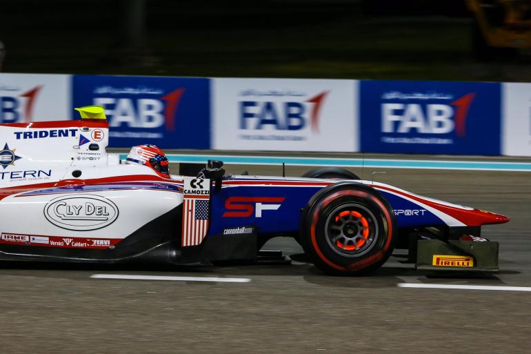 Santino Ferrucci - Haas F1 development driver (F2)