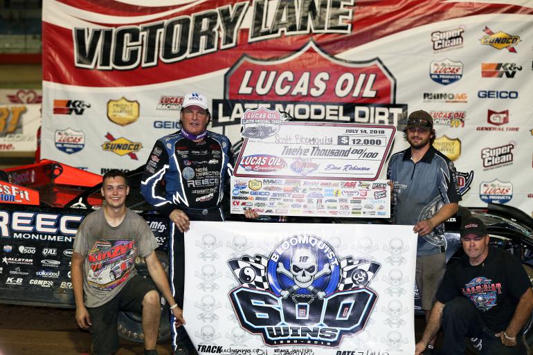 Scott Bloomquist - Win Count: 600