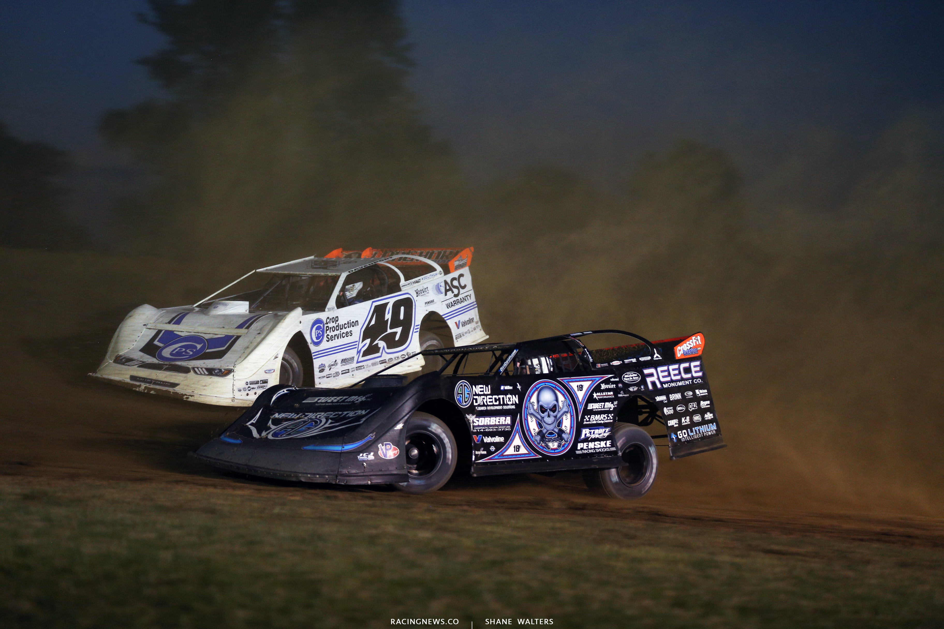 Scott Bloomquist and Jonathan Davenport 1804