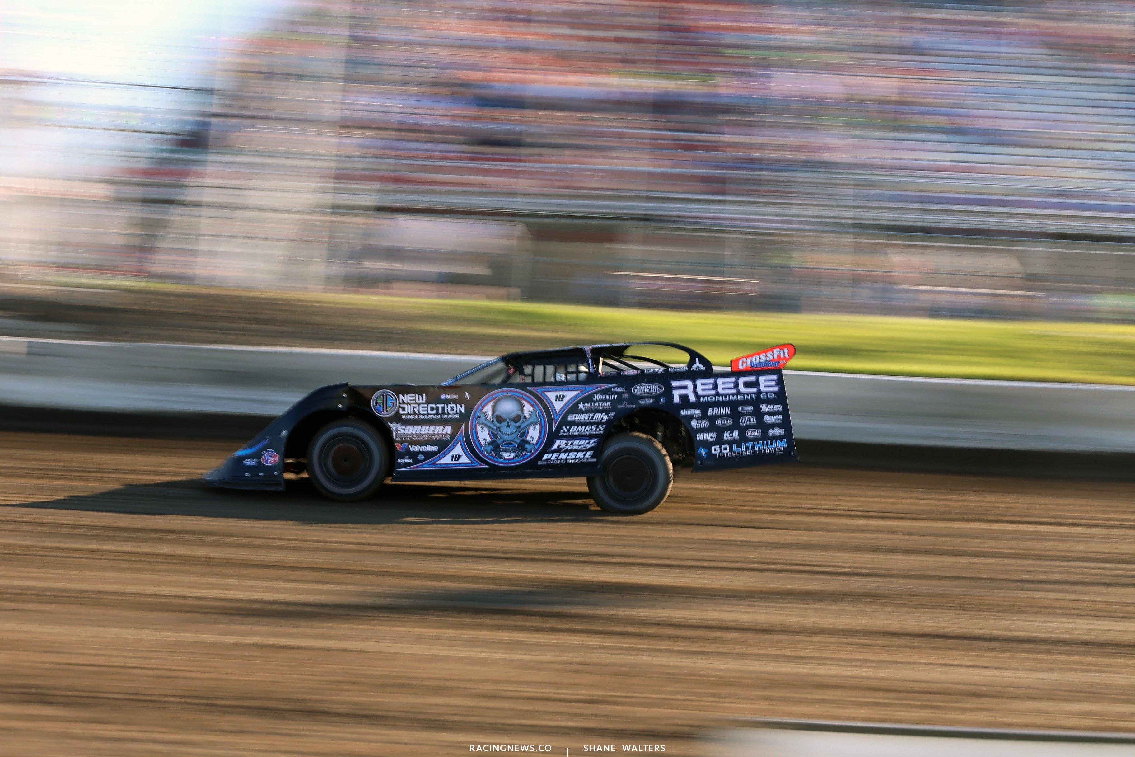 Scott Bloomquist at I-80 Speedway 3540