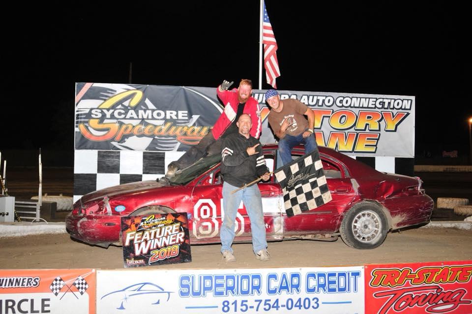 Tim Erjavac at Sycamore Speedway