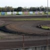 Tri-City Speedway photo showing the new 1/5 mile inside of the 3/8 mile