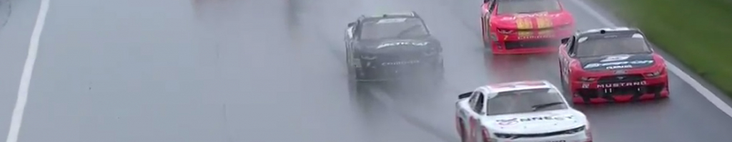 NASCAR drivers concerned about rain racing in Playoffs at The ROVAL