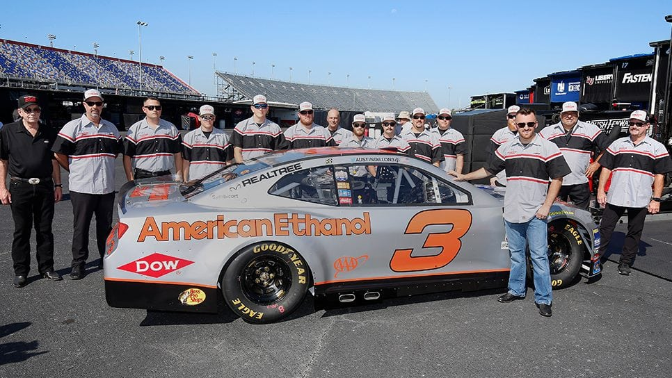 Austin Dillon - Silver Earnhardt throwback