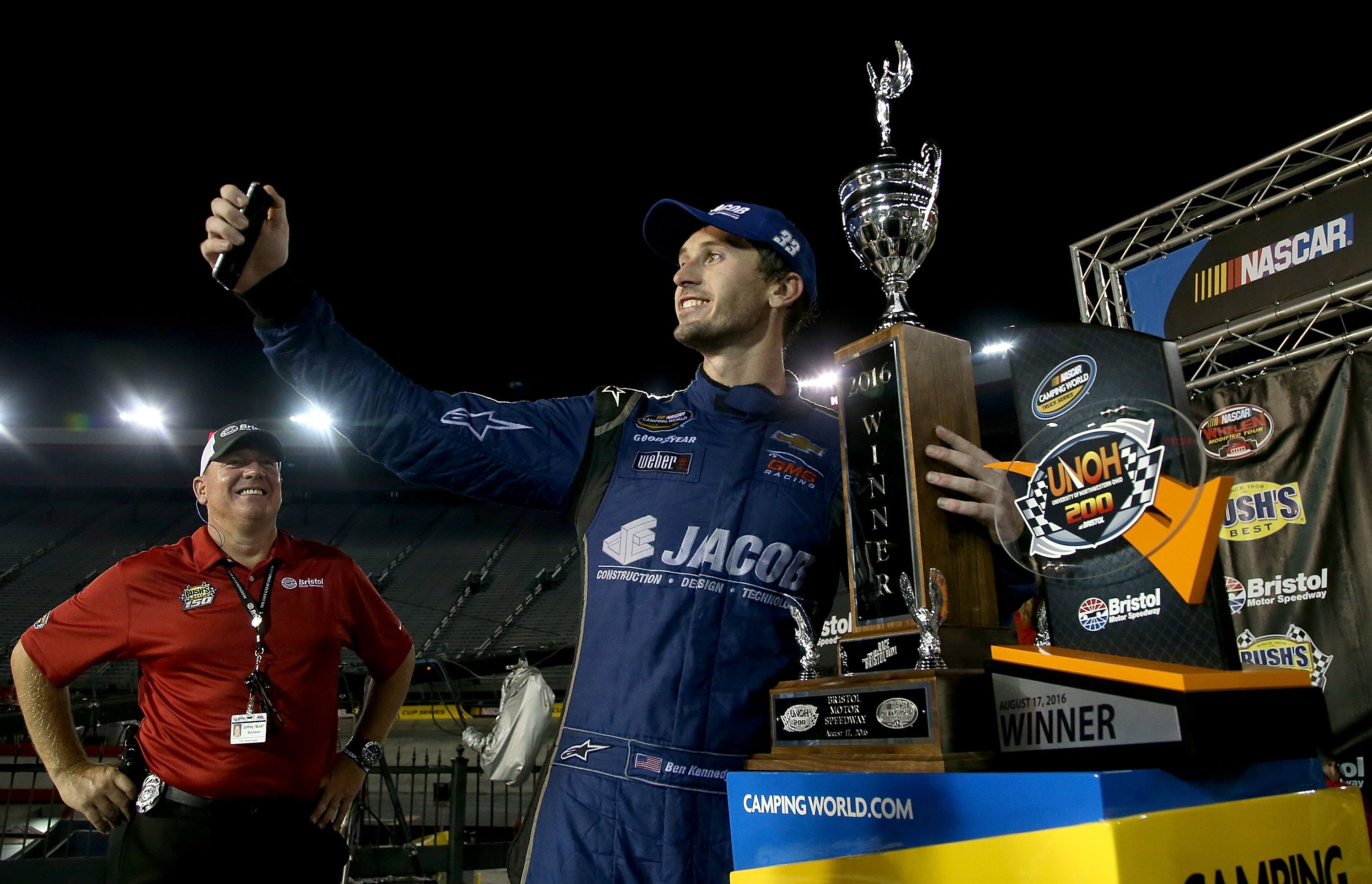 Ben Kennedy wins at Bristol Motor Speedway