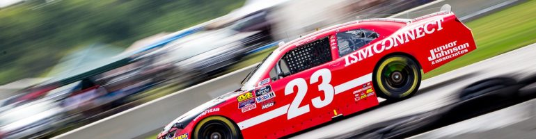 Bill Elliott explains when he'll step out of the seat for good