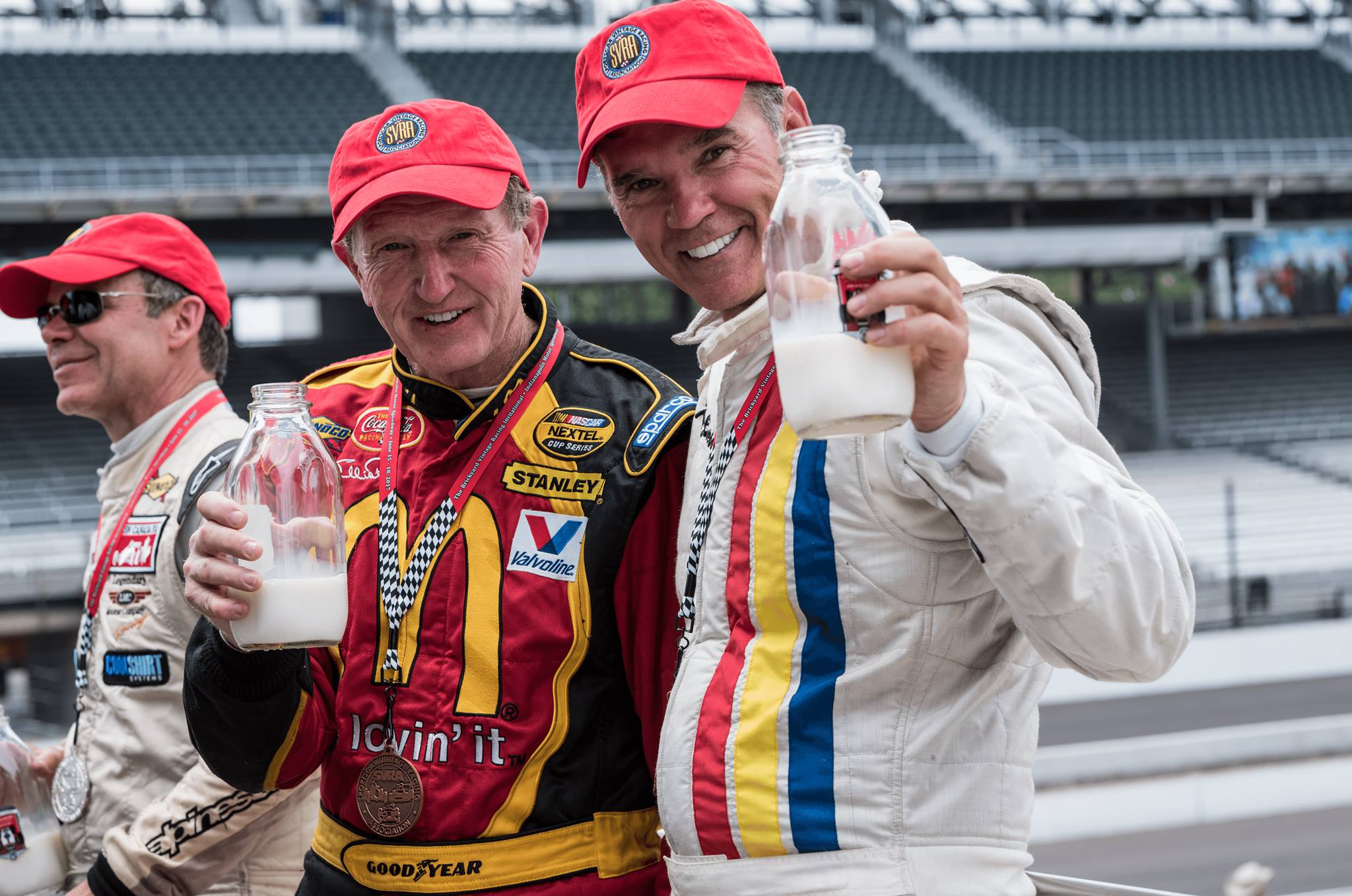 Bill Elliott and Ray Evernham in 2017