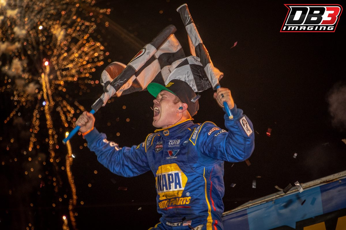 Brad Sweet wins the 2018 Knoxville Nationals