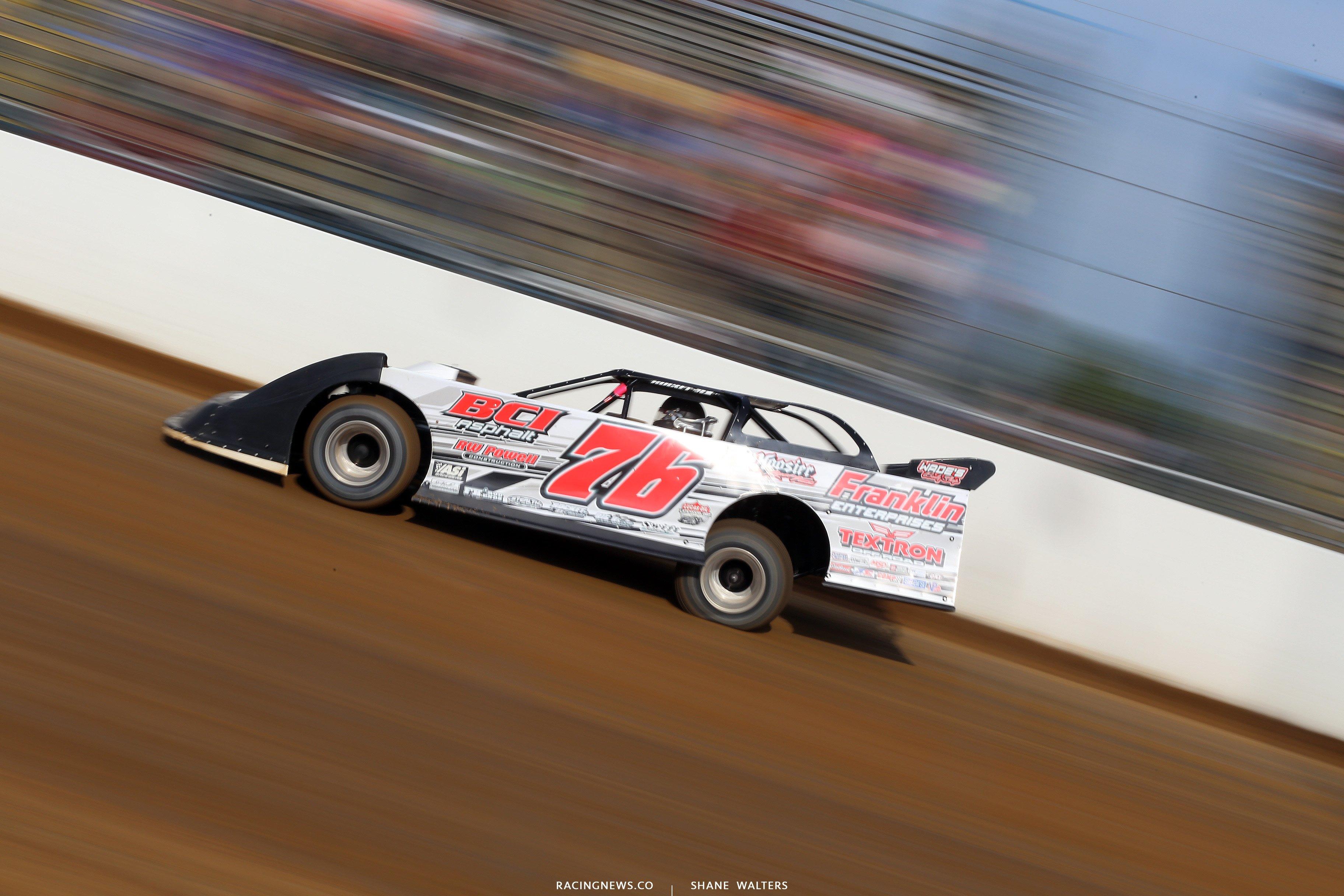 Brandon Overton at Florence Speedway 4908