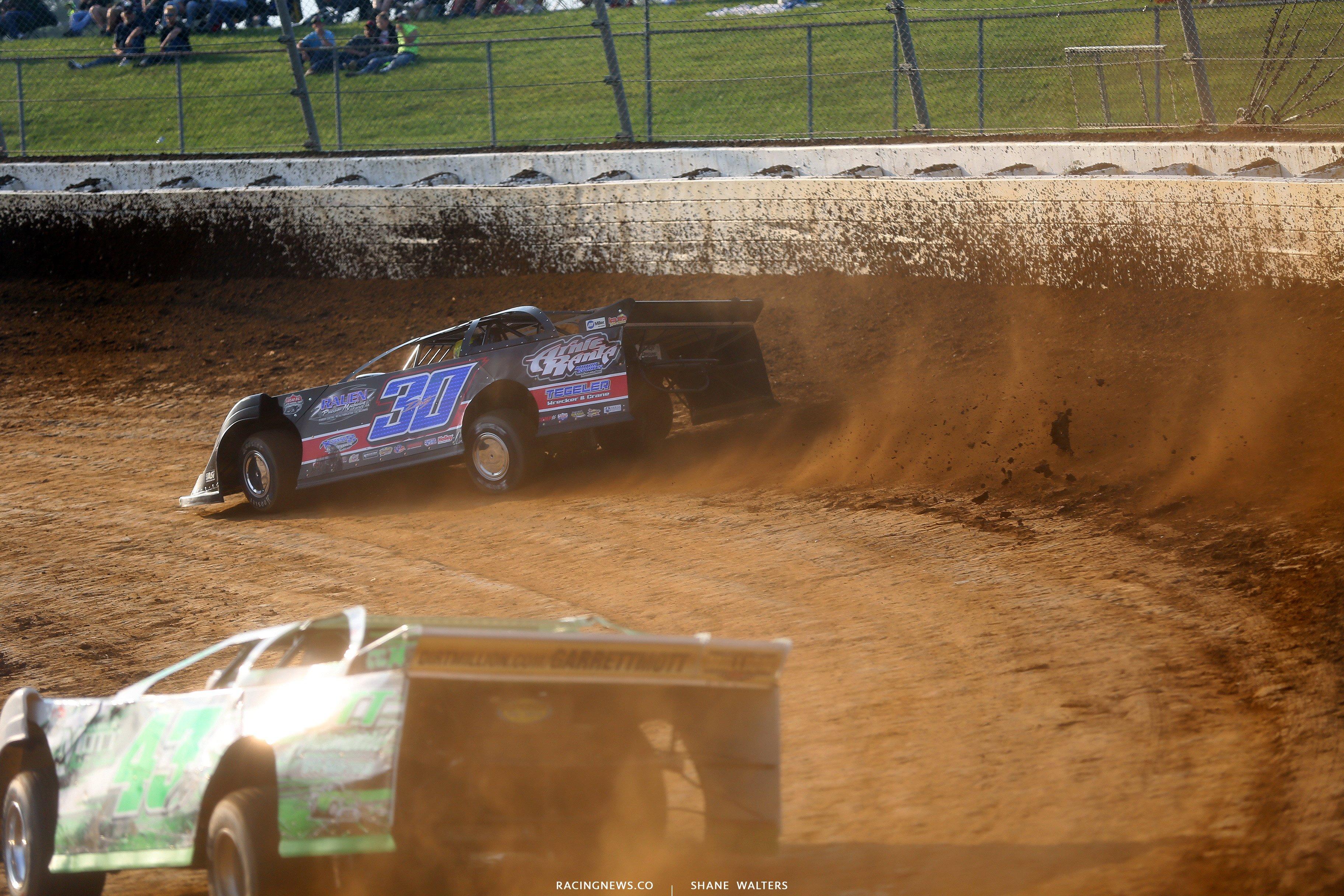 Brian Birkhofer at Mansfield Motor Speedway 6246