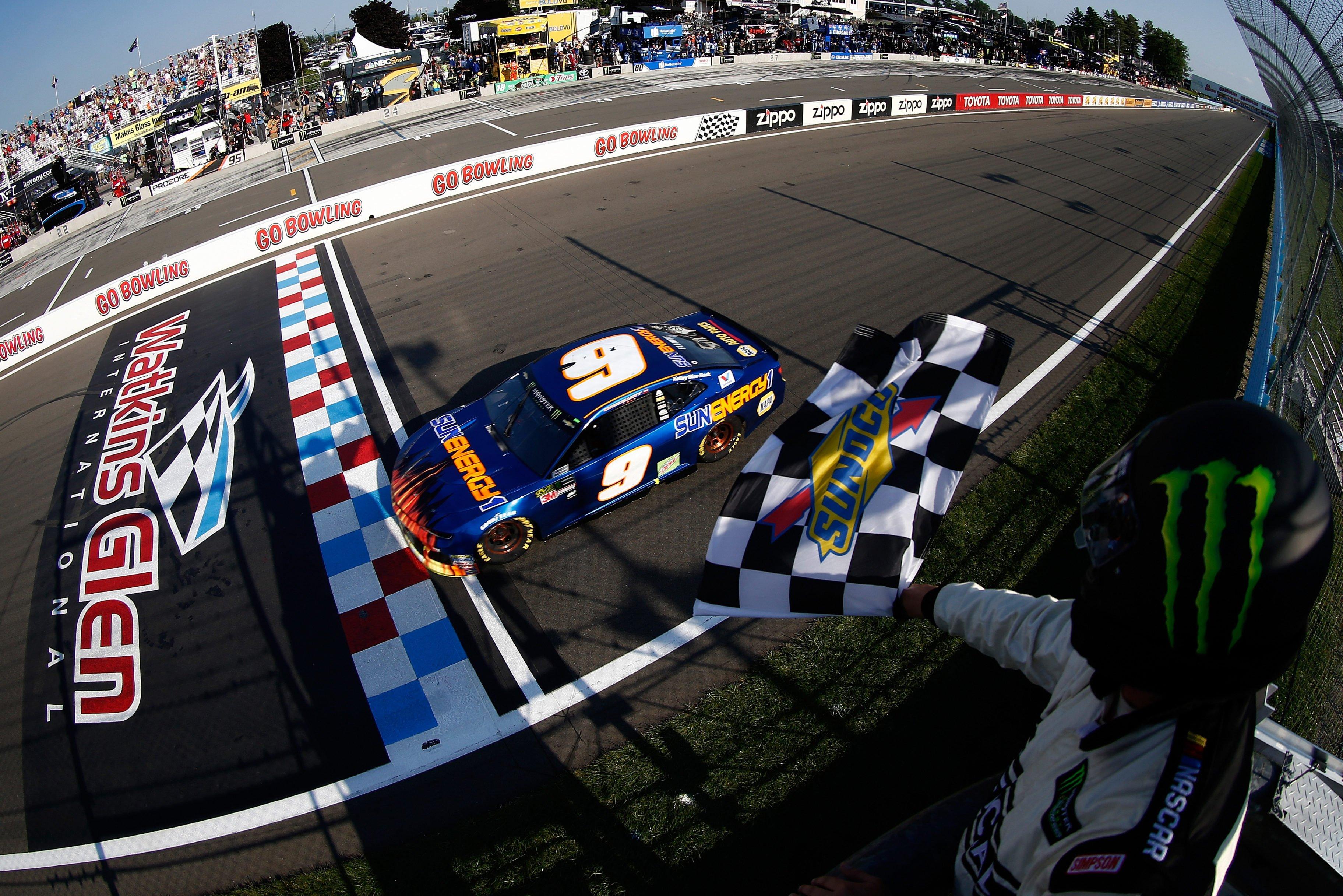 Chase Elliott wins at Watkins Glen International