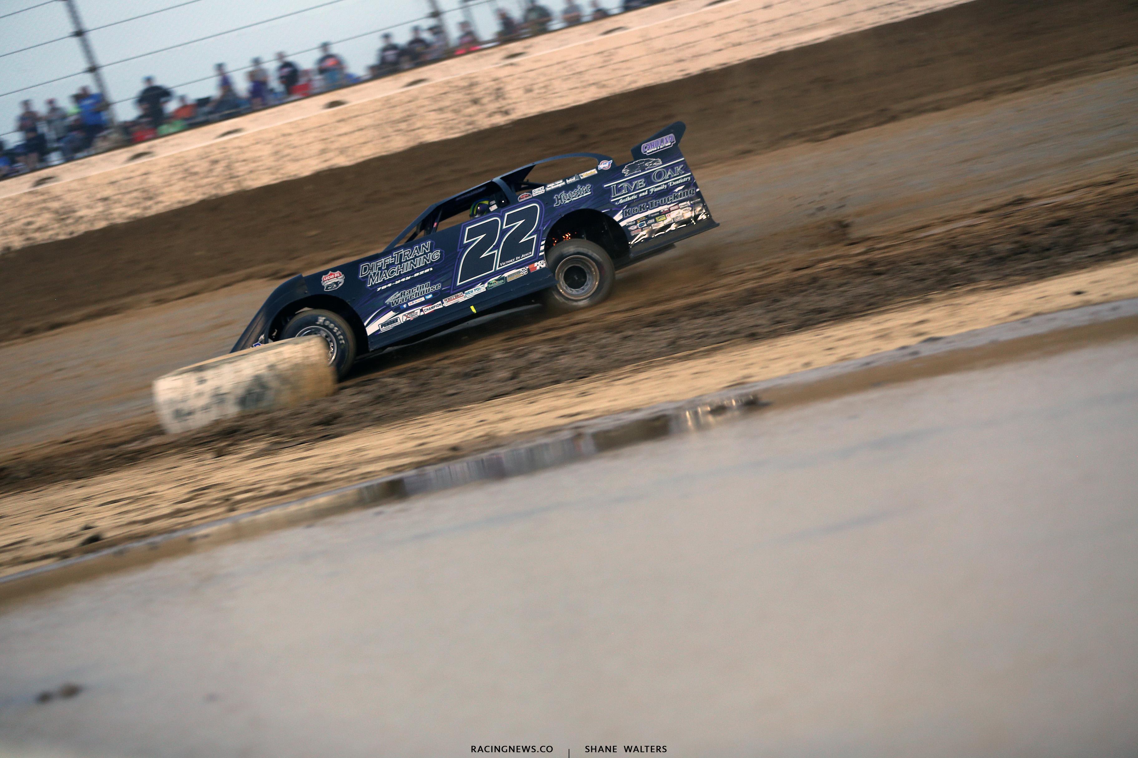 Chris Ferguson at Mansfield Motor Speedway 6410
