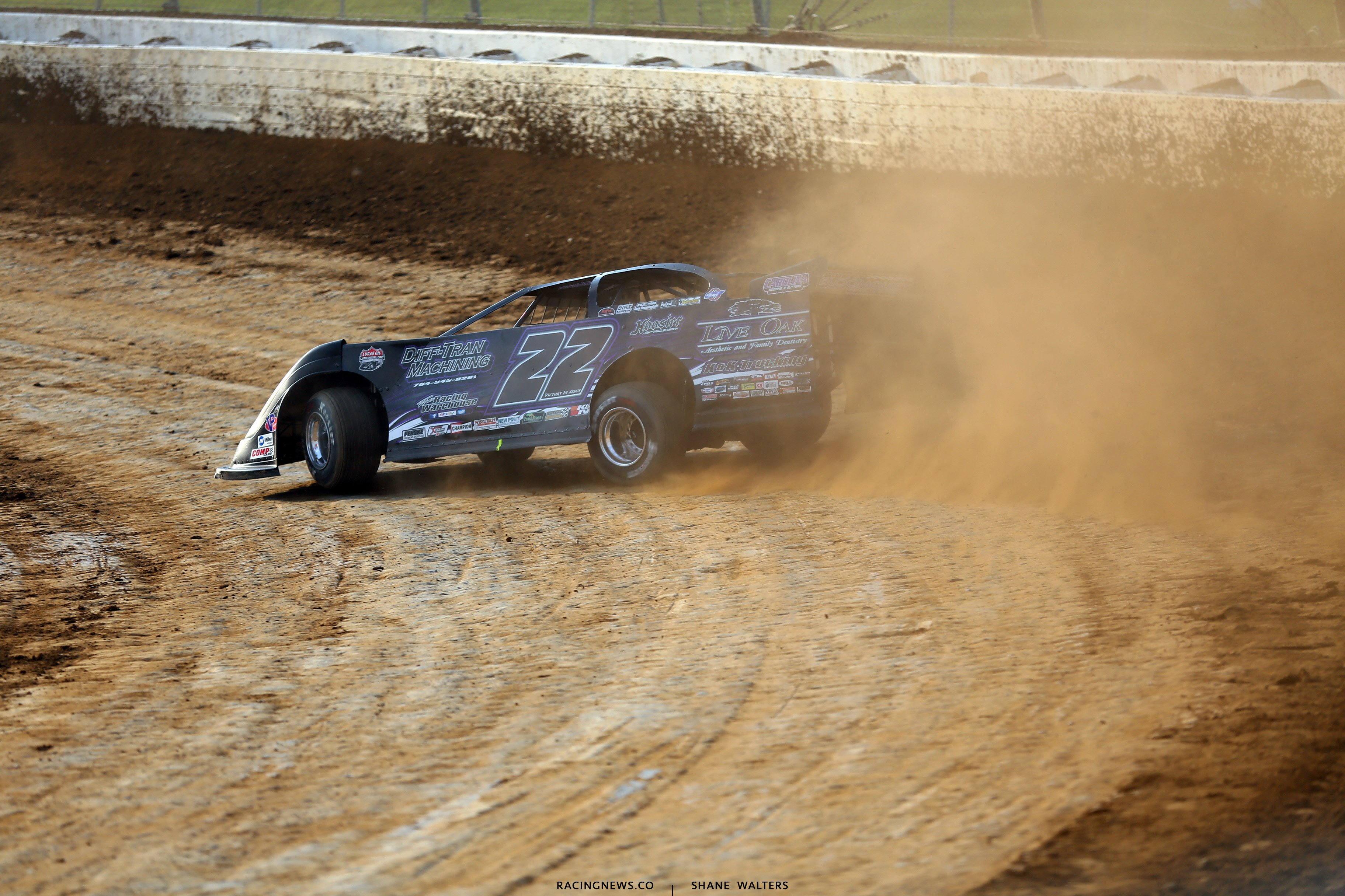 Chris Ferguson in his Sweet Bloomquist Chassis at Mansfield Motor Speedway 6283