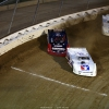 Darrell Lanigan, Bobby Pierce and Steve Casebolt at Mansfield Motor Speedway 6017