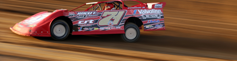Dirt Late Model Hall of Famer Delmas Conley picks up first win of 2018